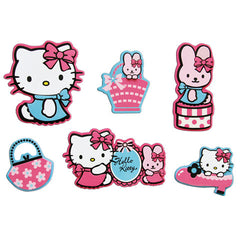 Set 24 mini sagome Hello Kitty
