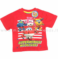 SUPER WINGS T-SHIRT BAMBINO DISNEY