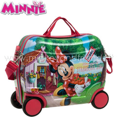 Valigia Cavalcabile | Trolley viaggio | Minnie Strawberry