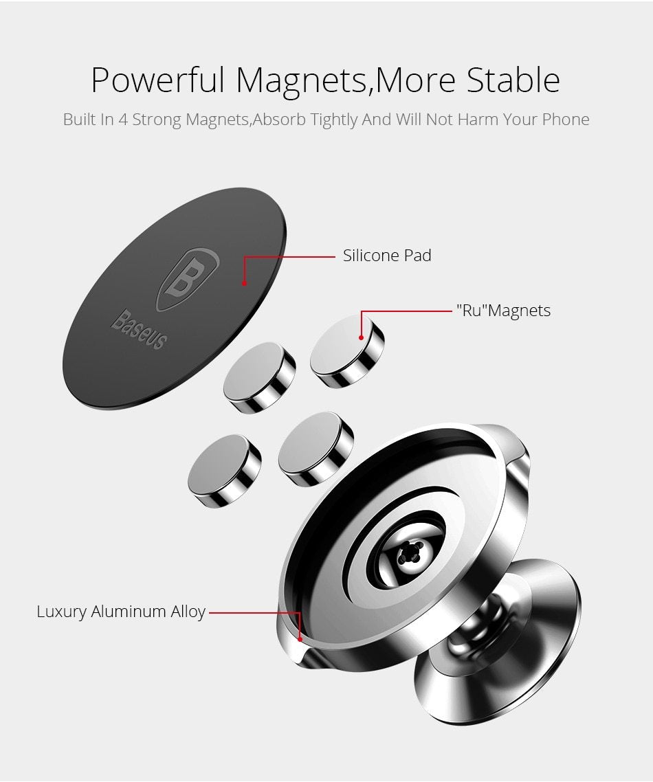 Baseus Universal Magnetic Phone Mount Magnets