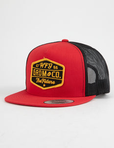 GROM Grom & Co. Boys Trucker Hat