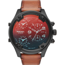 Load image into Gallery viewer, Men's Boltdown Chronograph Brown Leather Watch