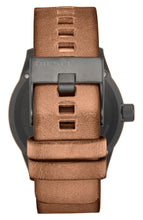 Load image into Gallery viewer, Diesel 'The Rasp' Leather Strap Watch