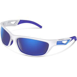 Polarized Golf Blue Sports Sunglasses