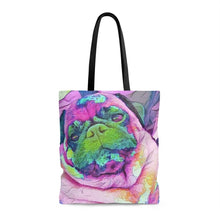 Load image into Gallery viewer, Otis R. Puglife Pop Art Tote