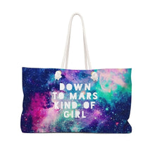 Load image into Gallery viewer, STYLEFOX® Down To Mars Kind of Girl Weekender Bag