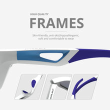 Load image into Gallery viewer, Polarized Golf Blue Sports Sunglasses
