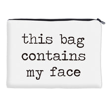 Load image into Gallery viewer, Face Cosmetic Bag Makeup Travel Organizer
