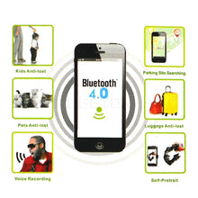 Load image into Gallery viewer, Mini Smart Bluetooth 4.0 Tracker Triangle Key Finder GPS Locator