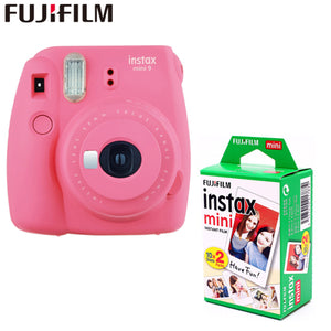 Fujifilm Instax Mini 9 Instant Film Camera (+ 20 sheets) Bundle