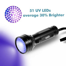 Load image into Gallery viewer, 51-LED Ultra Violet Torch Light