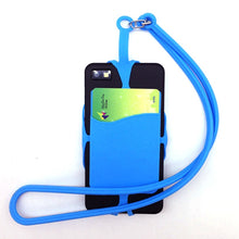 Load image into Gallery viewer, 2-in-1 Universal Cell Phone Lanyard Strap