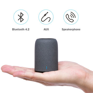 Portable Bluetooth Speaker with Enhanced Bass