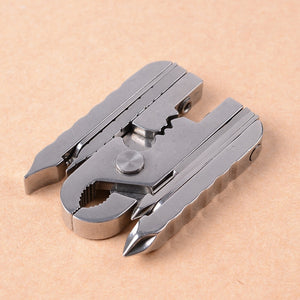 15-in-1 Stainless Steel EDC Keychain Multi-Tool