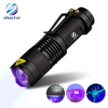 Load image into Gallery viewer, UV Flashlight LED Blacklight Detector