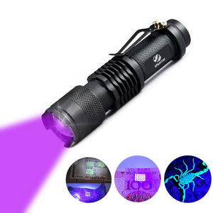 UV Flashlight LED Blacklight Detector
