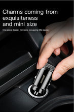 Load image into Gallery viewer, Baseus Mini Dual USB Car Charger