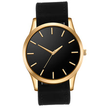 Load image into Gallery viewer, Classic Black Leather Watch