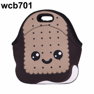 Gourmet 3D Emoji Insulated Lunch Tote