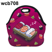 Load image into Gallery viewer, Gourmet 3D Emoji Insulated Lunch Tote