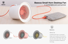 Load image into Gallery viewer, Baseus Mini USB Cooler Fan