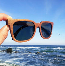 Load image into Gallery viewer, BOBO BIRD Black Walnut Polarized Wooden Sunglasses