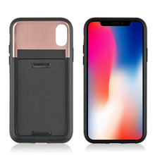 Load image into Gallery viewer, Dual Layer 3-in-1 Shockproof Phone Case with Mirror - iPhone X