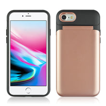 Load image into Gallery viewer, Dual Layer 3-in-1 Shockproof Phone Case with Mirror - iPhone 7/8