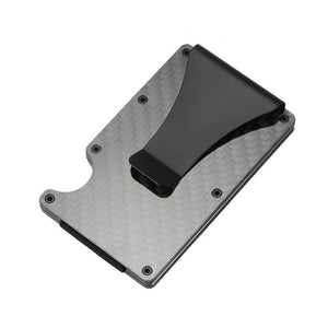 Carbon Fiber RFID-Blocking Credit Card Holder