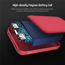 Load image into Gallery viewer, Mini Portable USB Power Bank 10000mAh