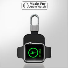 Load image into Gallery viewer, Apple Watch Qi Mini Portable Wireless Charger KeyChain