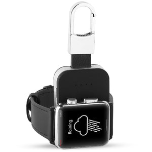 Apple Watch Qi Mini Portable Wireless Charger KeyChain