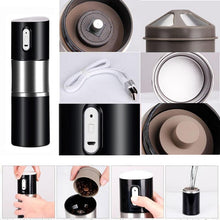 Load image into Gallery viewer, Portable Automatic Coffee Maker With Grinder