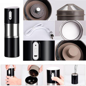 Portable Automatic Coffee Maker With Grinder