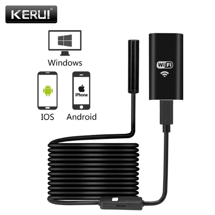 WiFi Endoscope Mini Waterproof USB Camera