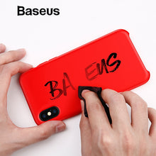 Load image into Gallery viewer, Baseus Smooth Candy Color Liquid Silicone Case iPhone X