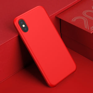 Baseus Smooth Candy Color Liquid Silicone Case iPhone X