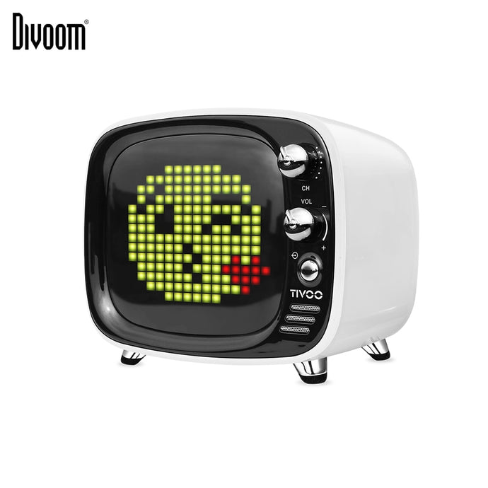 Divoom Tivoo LED Pixel Art Portable Retro Wireless Bluetooth Speaker