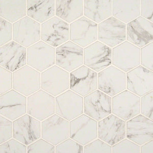 "Pietra Carrara 2"" hexagon"