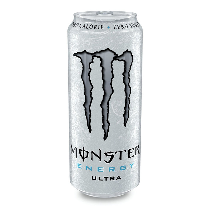 MONSTER ULTRA ZERO WHITE (500 ml) - AffamatiUSA
