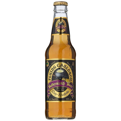 BURROBIRRA DI HARRY POTTER - FLYING CAULDRON BUTTERSCOTCH BEER (355ml) - AffamatiUSA