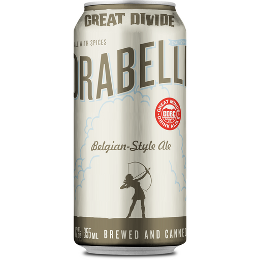 GREAT DIVIDE ORABELLE BELGIAN STYLE TRIPEL (355 ml) - AffamatiUSA