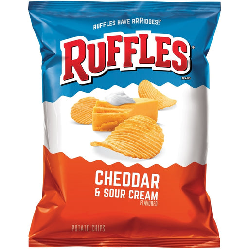 RUFFLES CHEDDAR AND SOUR CREAM (184 g) - AffamatiUSA