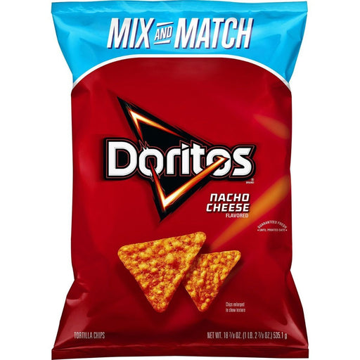 DORITOS NACHO CHEESE (198.4 g) - AffamatiUSA