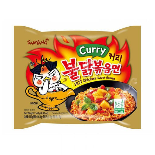 SAMYANG RAMEN AL CURRY (140 g) - AffamatiUSA