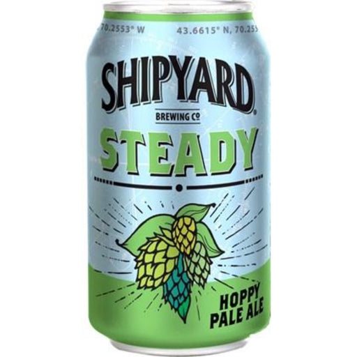 SHIPYARD STEADY HOPPY PALE ALE (355 ml) - AffamatiUSA