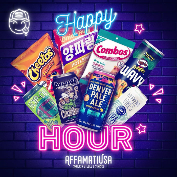 HAPPY HOUR BOX - AffamatiUSA