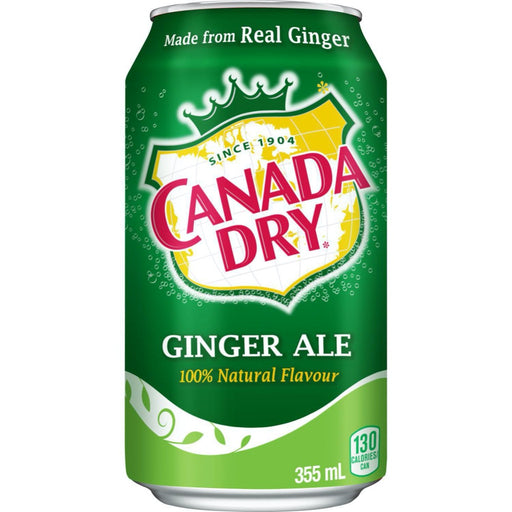 CANADA DRY GINGER ALE (355 ml) - AffamatiUSA