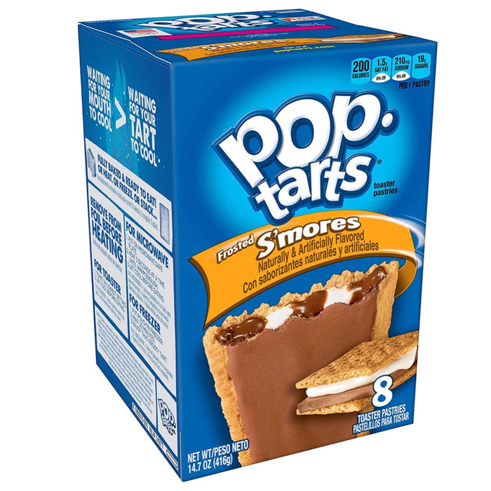 POP TARTS FROSTED S'MORES (384 g) - AffamatiUSA