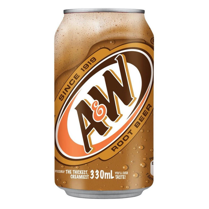 A&W ROOT BEER (355 ml) - AffamatiUSA